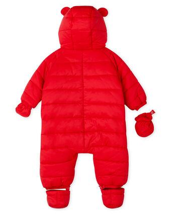 Buzo de bebé unisex rojo Terkuit
