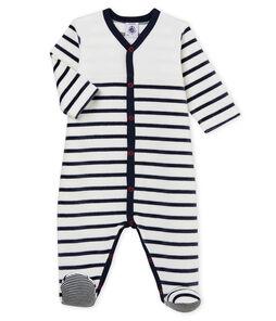 Pijama de terciopelo para bebé