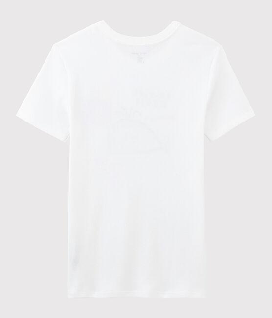 Camiseta de mujer Serge Bloch blanco Ecume