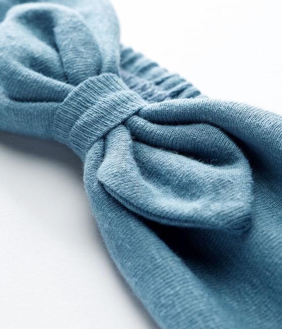 Turbante para bebé niña azul Fontaine