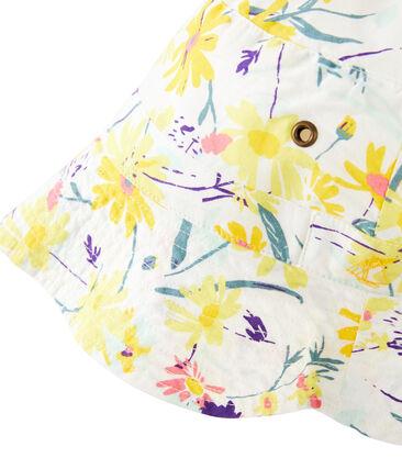 Sombrero bob niña blanco Marshmallow / blanco Multico