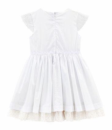 Vestido de niña blanco Ecume
