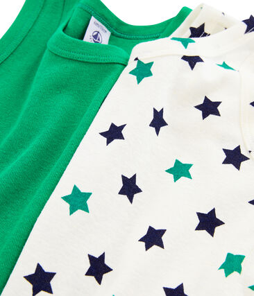 Par de camisetas de tirantes de lino/algodón para niño lote .