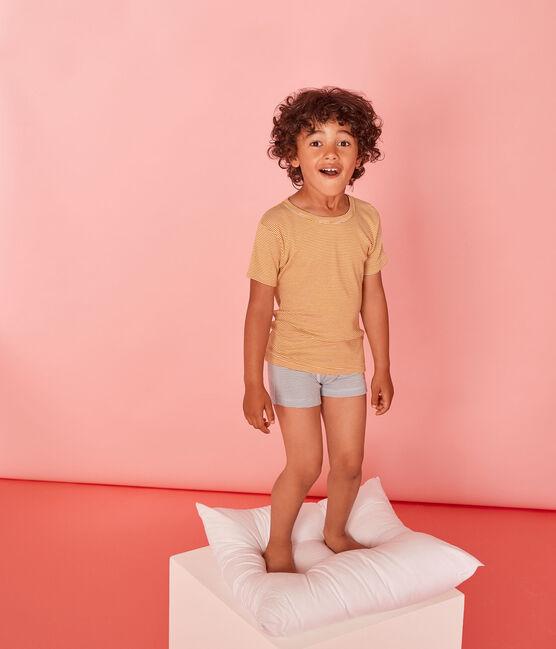 Par de camisetas manga corta para niño lote .