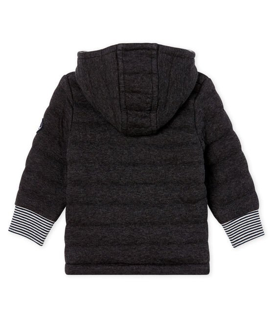 Chaqueta en tela túbica acolchada para bebé niño. gris City Chine