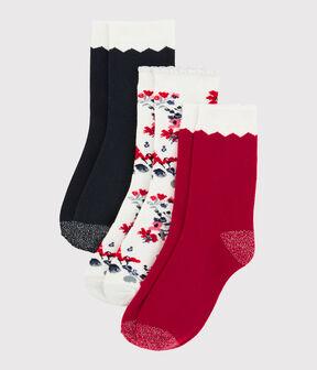 Lote de calcetines para niña lote .