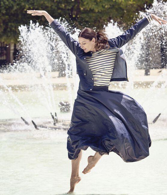 Falda larga para mujer x Marie-Agnès Gillot azul Smoking