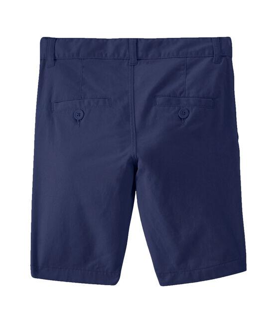 Bermudas de niño azul Smoking