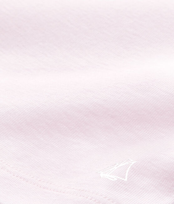 Camiseta sin mangas para niña rosa Vienne