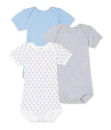 Lote de 3 bodies para bebé niño