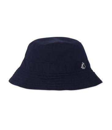 Sombrero bob de sarga bebé mixto azul Smoking