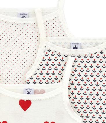 Pack de 3 camisetas de tirantes para niña lote .