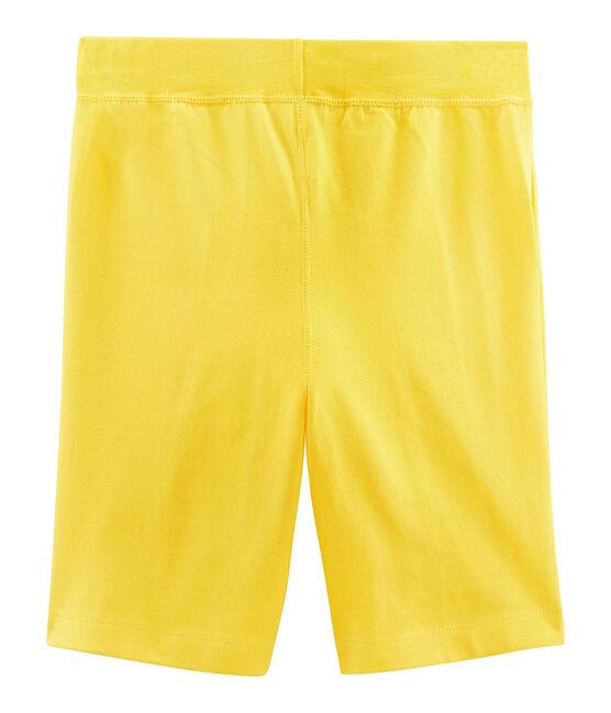 Bermudas de niño amarillo Shine