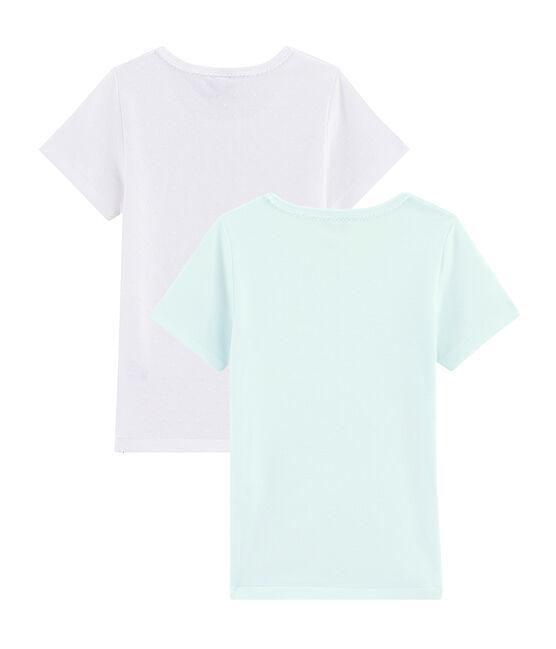 Juego de 2 camisetas para niña pequeña lote .