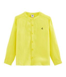 Camisa de niño amarillo Eblouis