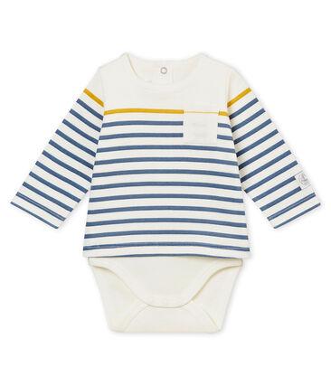 Body camiseta de manga larga para bebé niño