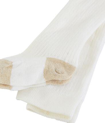 Pantis para bebé niña blanco Marshmallow