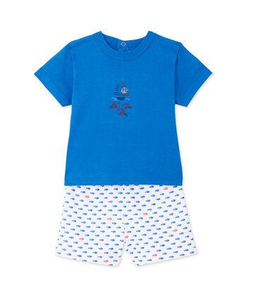 Pijama corto estampado para bebé niño