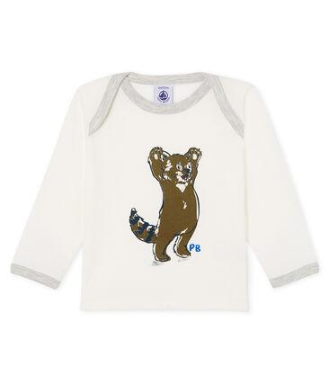Camiseta de manga larga para bebé niño