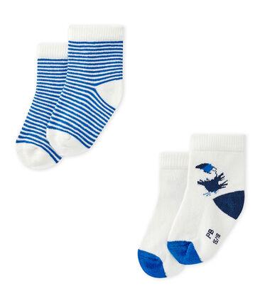 Lote de 2 pares de calcetines bebé niño