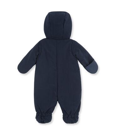 Buzo de microfibra para bebé unisex azul Abysse