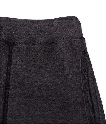 Pantalón para mujer en túbico extrafino chiné gris City Chine