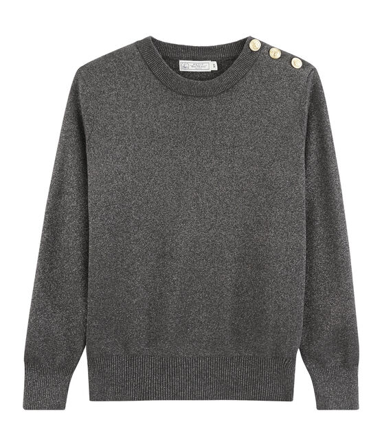 Jersey para mujer negro City / gris Argent
