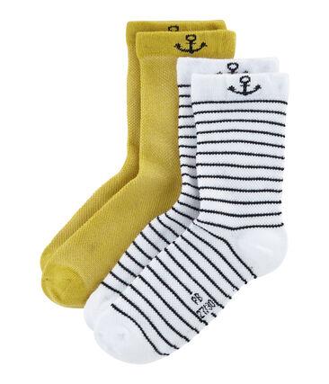 Juego de 2 pares de calcetines infantiles para niño lote .