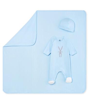 Estuche de regalo de nacimiento de punto para bebé