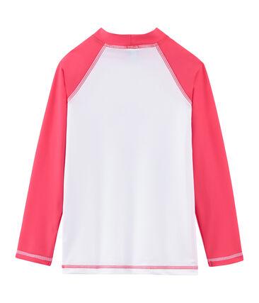 Camiseta de protección solar para niño y niña