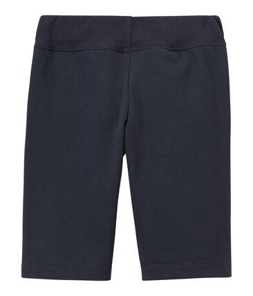 Bermuda para niño en jersey tupido