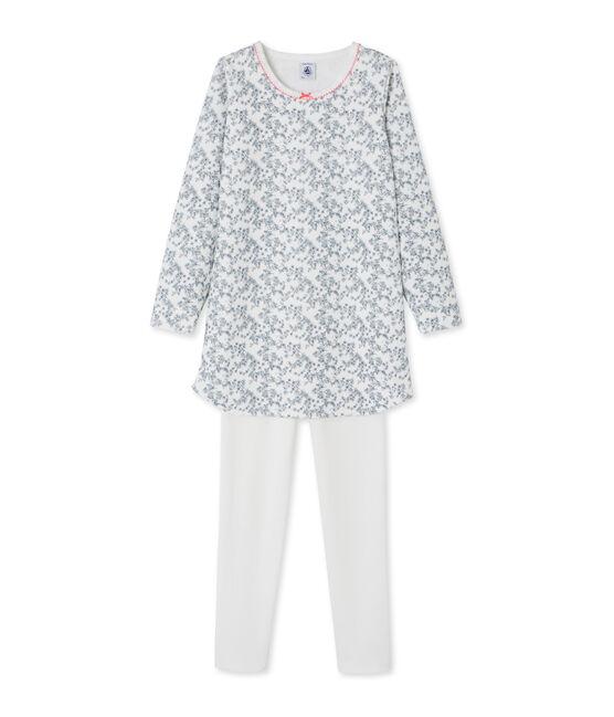 Camisón para niña blanco Marshmallow / blanco Multico
