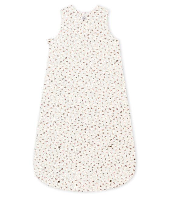 Saco para bebé niña estampada blanco Marshmallow / blanco Multico