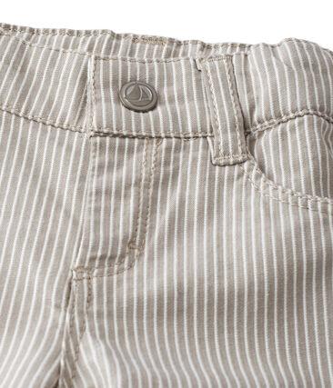 Pantalón de rayas para bebé niño