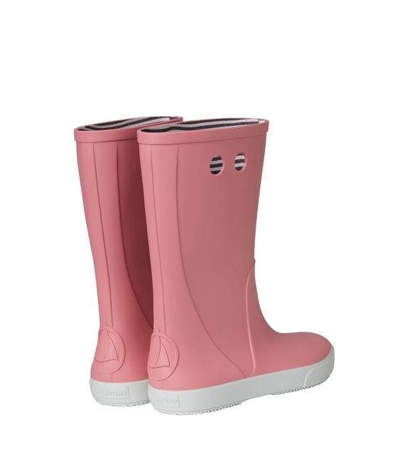 Botas para la lluvia rosa Cheek