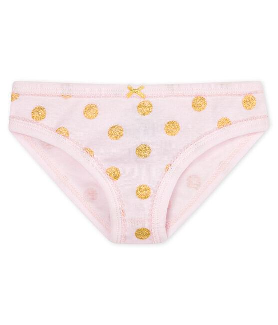 Braguita para niña rosa Vienne / amarillo Or