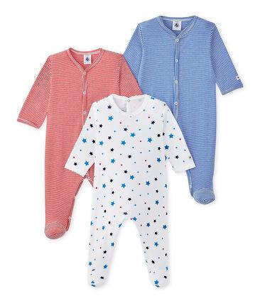 Lote de 3 pijamas para bebé niño