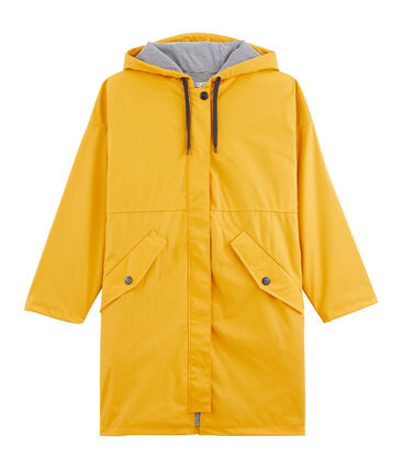 Parka oversize de mujer amarillo Boudor