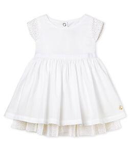 Vestido de manga corta de ceremonia para bebé niña