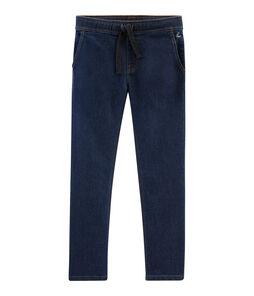 Pantalón vaquero para niño azul Denim Bleu Fonce
