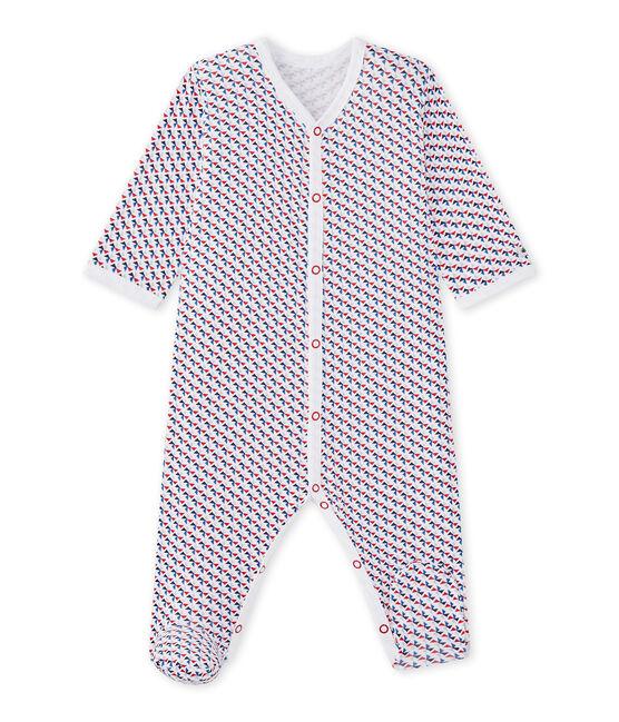 Pijama estampado para bebé niño blanco Ecume / blanco Multico