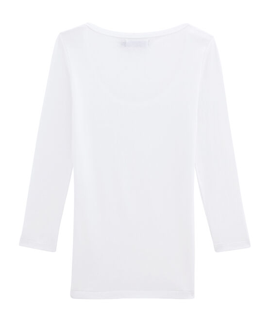 Camiseta icónica de mujer blanco Ecume