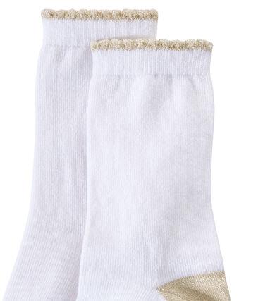 calcetines lisos para niña