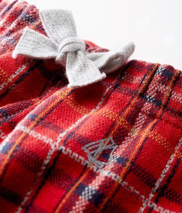 Pantalón de cuadros para bebé niño