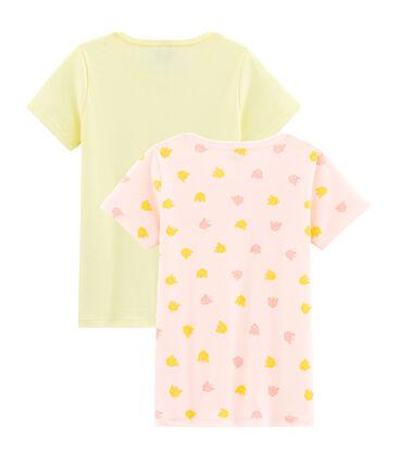 Par de camisetas para niña lote .