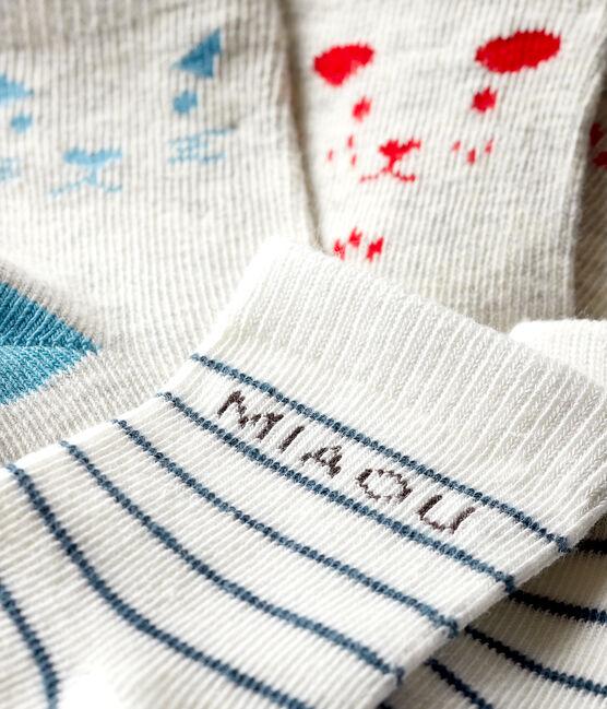 Lote de 3 pares de calcetines bebé lote .