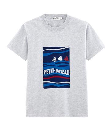 Camiseta mixta con motivo de postal