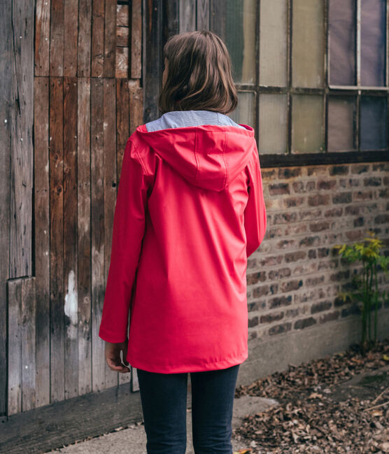Impermeable unisex rojo Signal