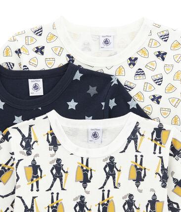 Pack de 3 camisetas de manga corta para niño