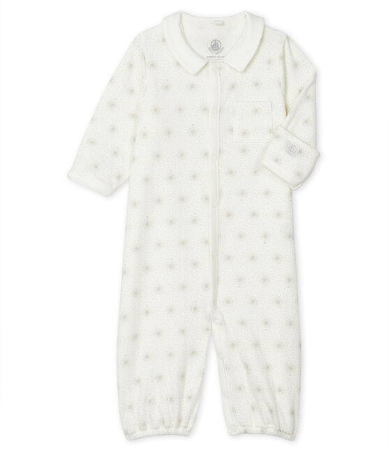 Mono saco para bebé de túbico blanco Marshmallow / blanco Multico